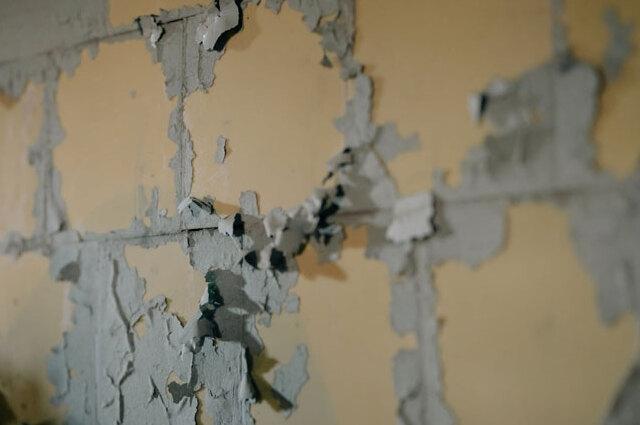 外壁塗料の剥がれ