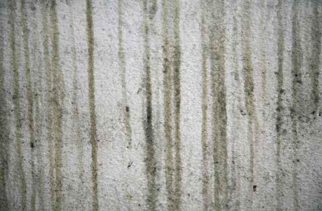 外壁の雨だれ跡