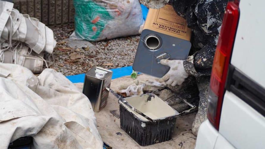 外壁塗装の弾性塗料や微弾性塗料って何?主にモルタル壁に使われる塗料