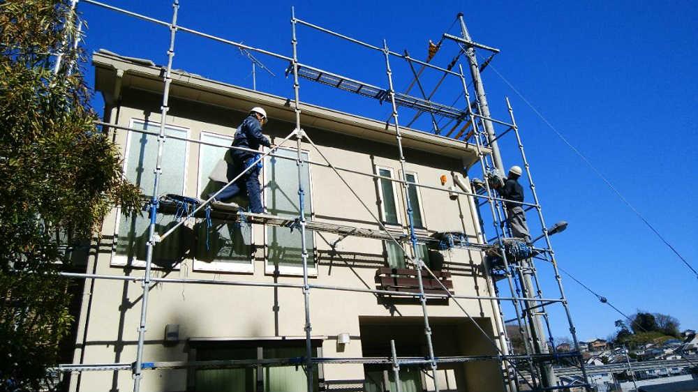 塗装 足場 なし 外壁 本当に必要?屋根・外壁塗装で欠かせない「足場」の話