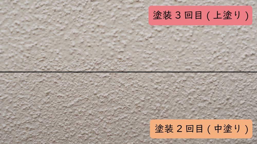 中塗りと上塗りの違い
