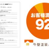 東京都羽村市神明台で外壁塗装・屋根塗装を実施したH.K様からの業者の口コミ・評判