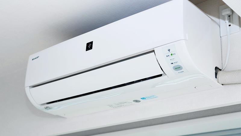外壁塗装している間でもエアコンは使えるのか?室外機は移動しておくべき?